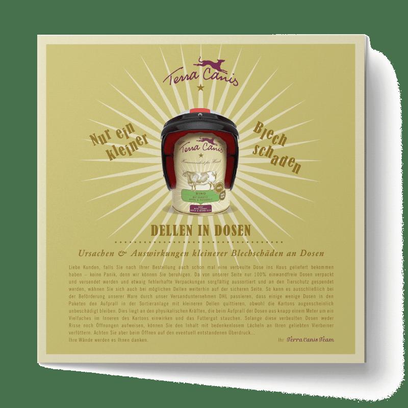 TC Wissenswertes-Flyer, französische Version