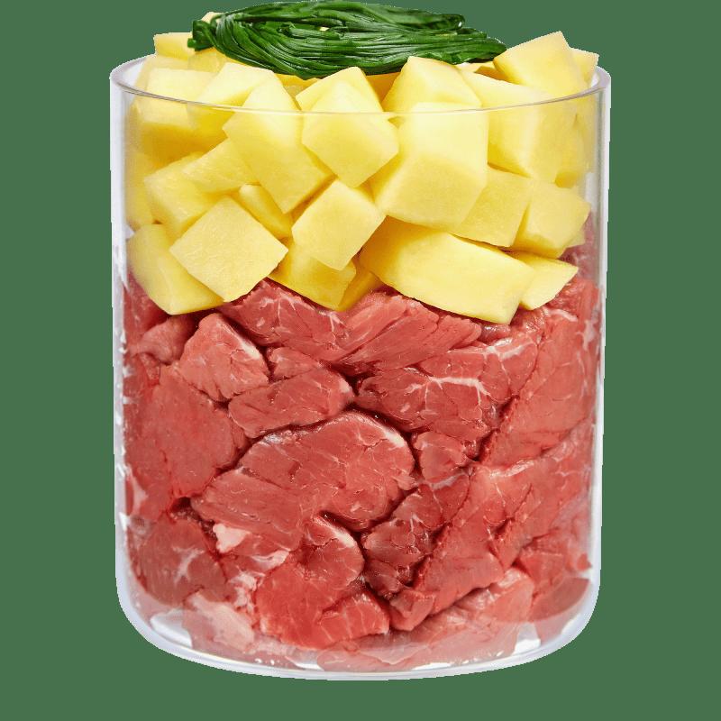 Kamel mit Kartoffel