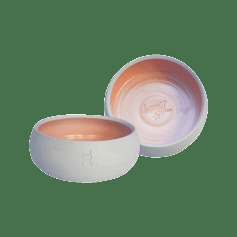 Keramik-Hundenapf – Natur / Lachs