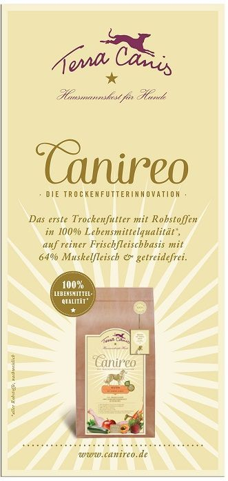 TC Canireo-Broschüre, englische Version