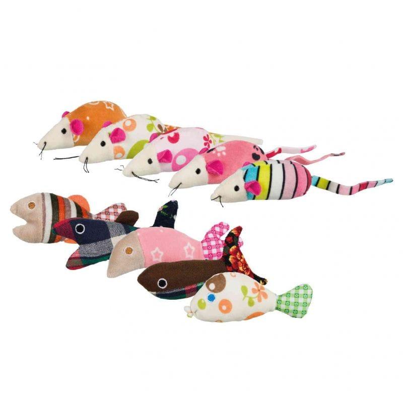 Mäuse/Fische mit Katzenminze