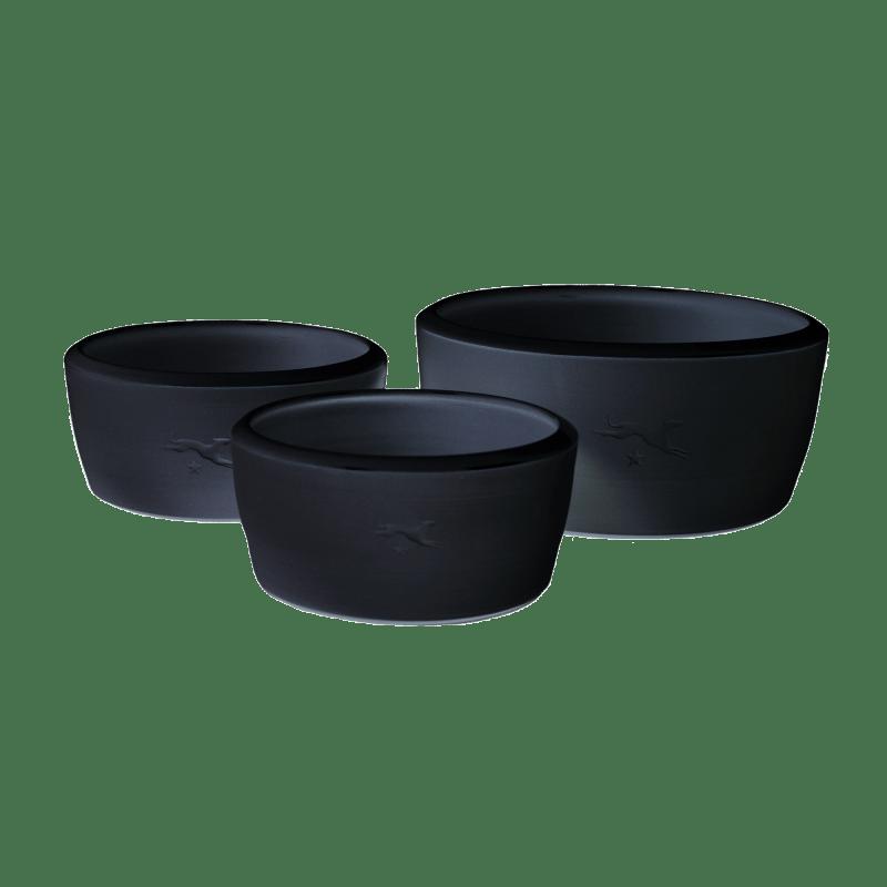 Ciotola in ceramica - nero