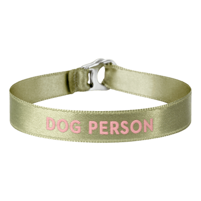 "Armband ""dog person"""