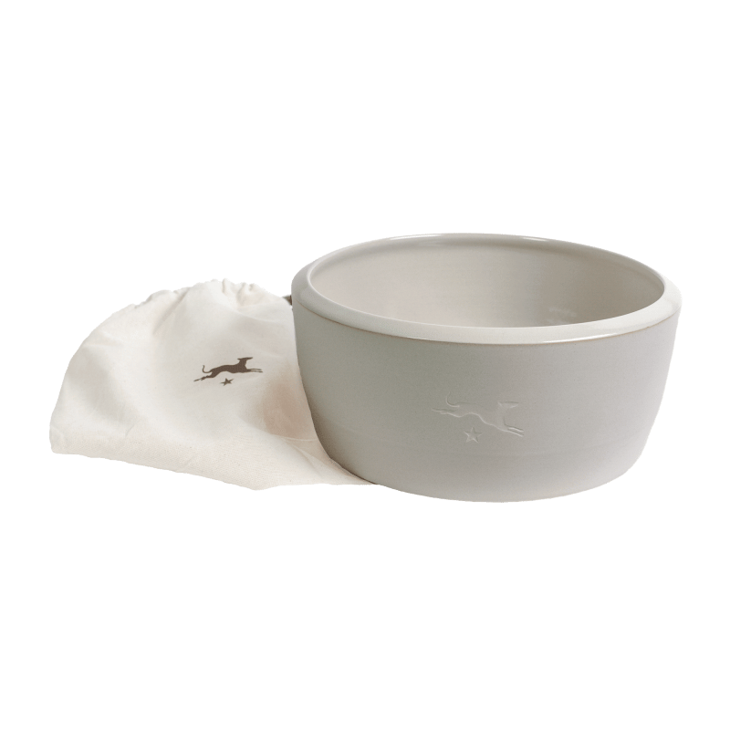 Keramik-Hundenapf – Natur