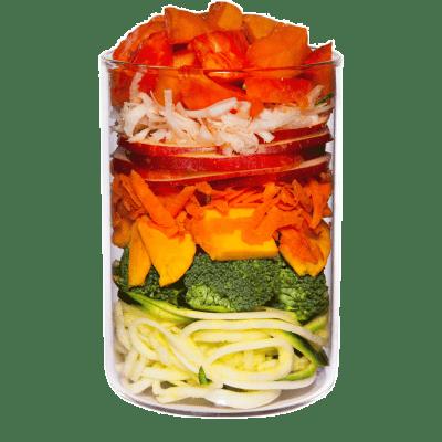 Mix di frutta e verdura