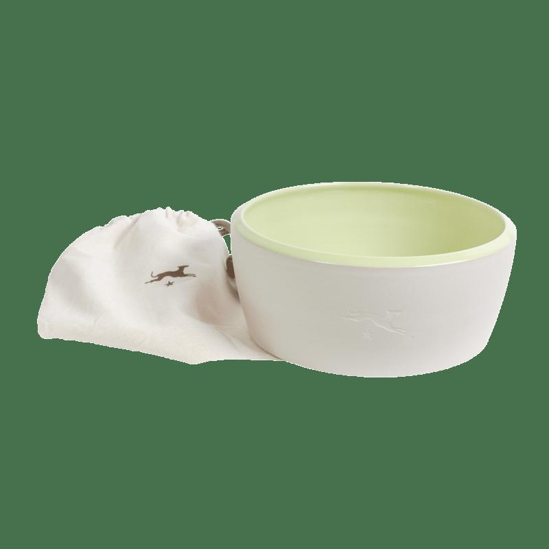 Ciotola di ceramica - verde chiaro
