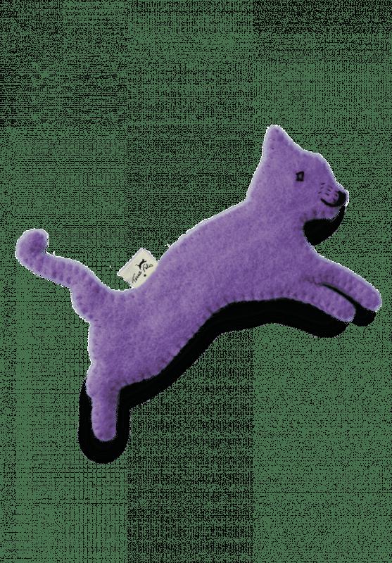 Spielzeug mit Katzenminze / Lila
