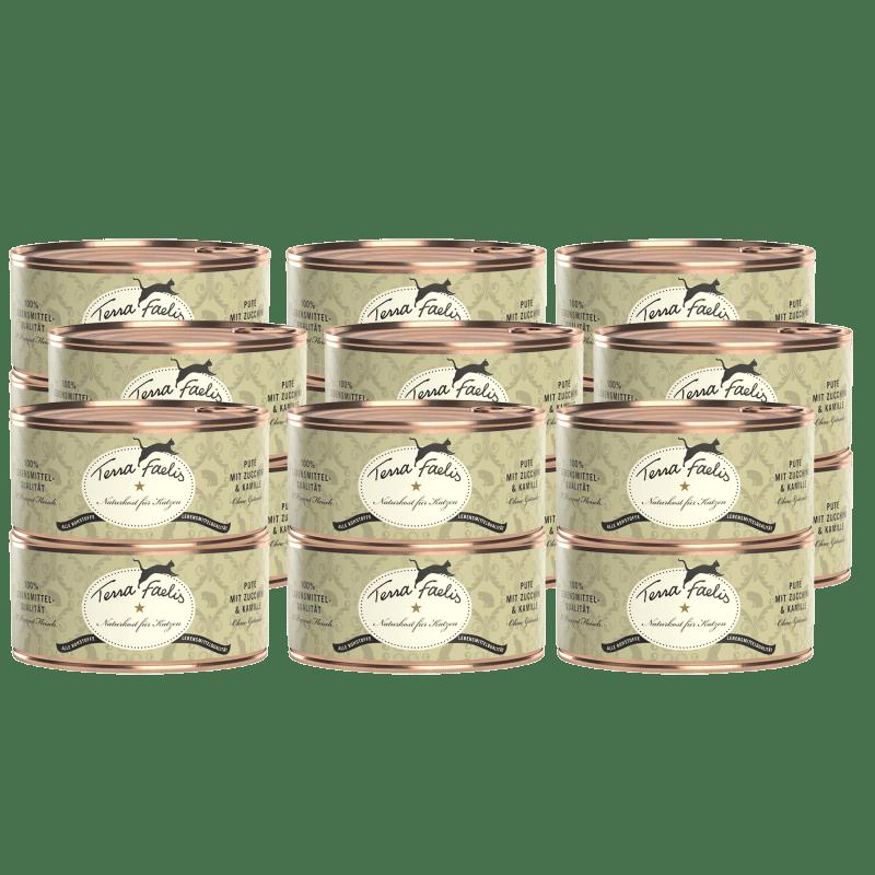 Pute mit Zucchini und Kamille