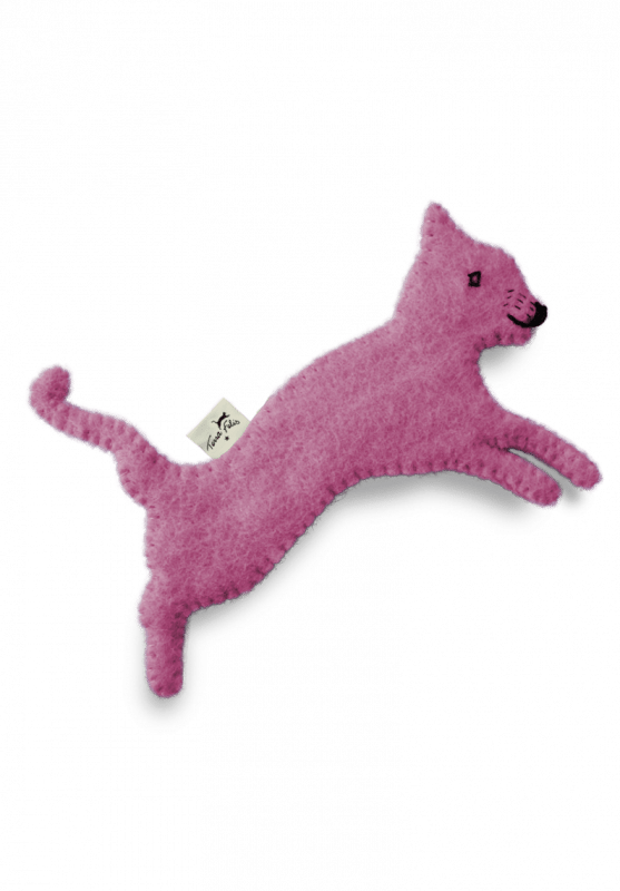 Spielzeug mit Katzenminze / Pink