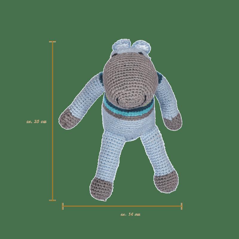 Hippo - Blue