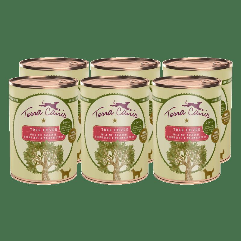 Tree Lover – Gibier avec châtaigne, mûre et herbes de la forêt