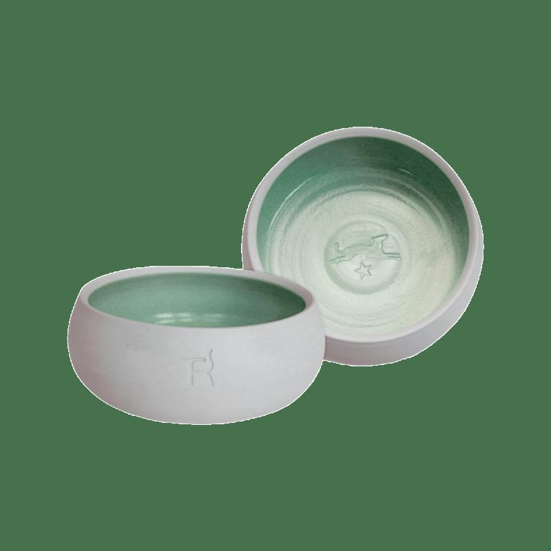 Keramik-Hundenapf – Natur / Tanne