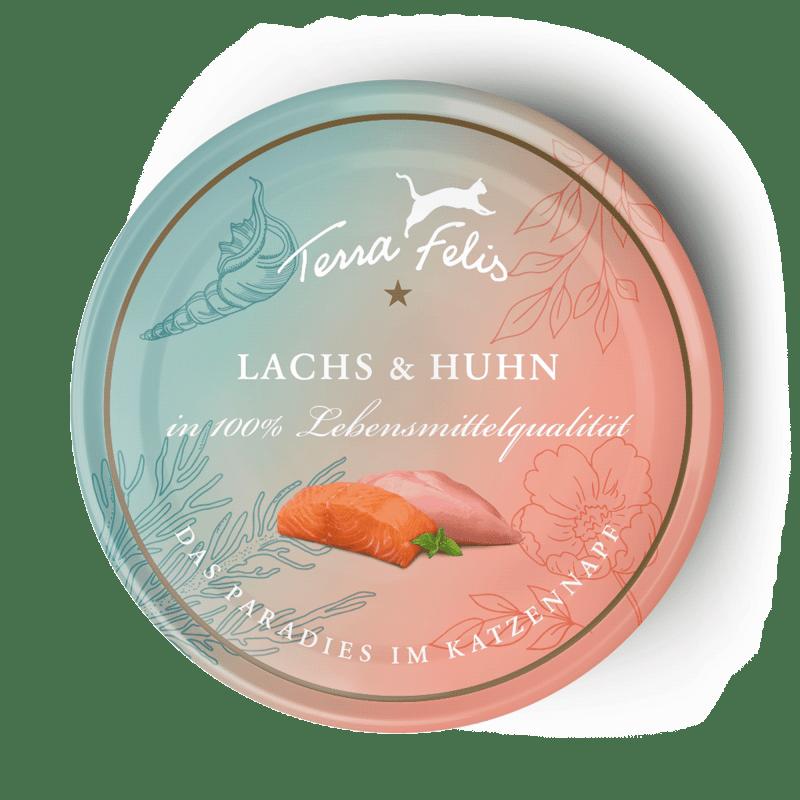 Lachs & Huhn