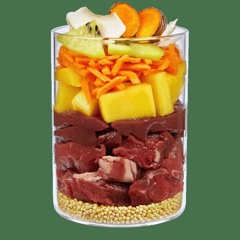 Sun Keeper – Bœuf avec noix de coco, fruits mûris au soleil et curcuma