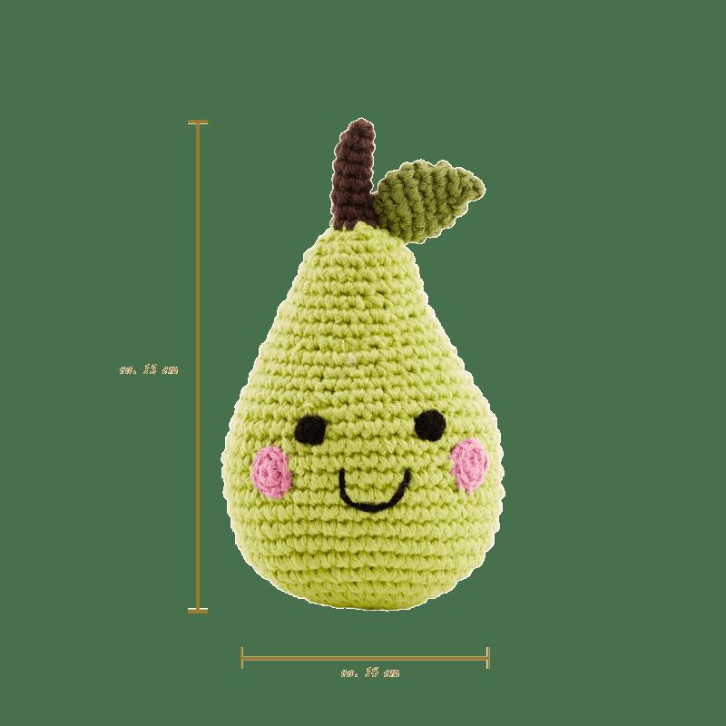 Friendly Fruit Pear