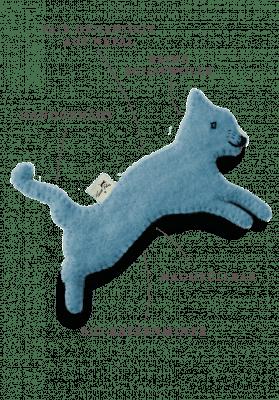 Toy with catnip / blue