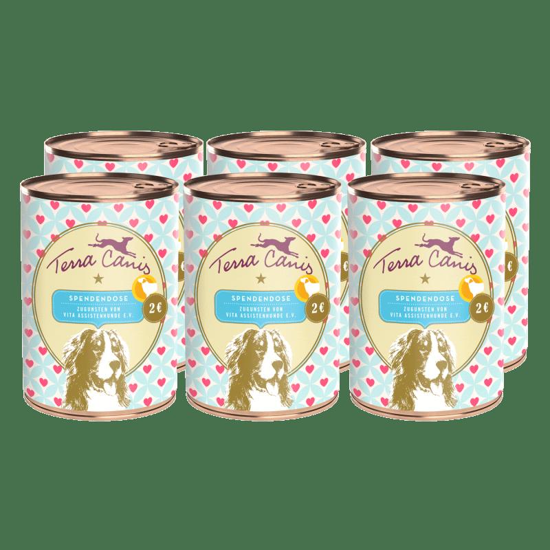 Boîte de don virtuelle VITA e.V. Chien d'assistance – Juliane & Kermit