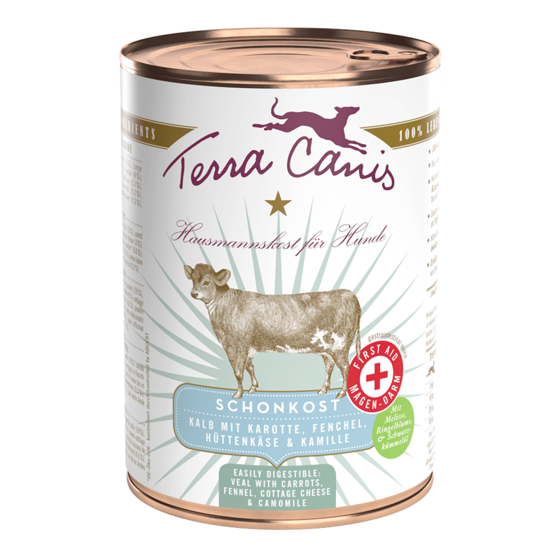 Gastrointestinal low-fat diet, veal