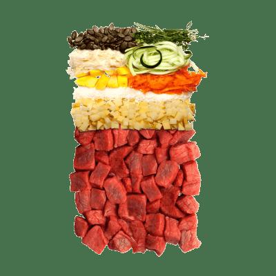 Dry food – beef
